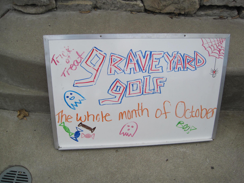 oooo...graveyard golf!