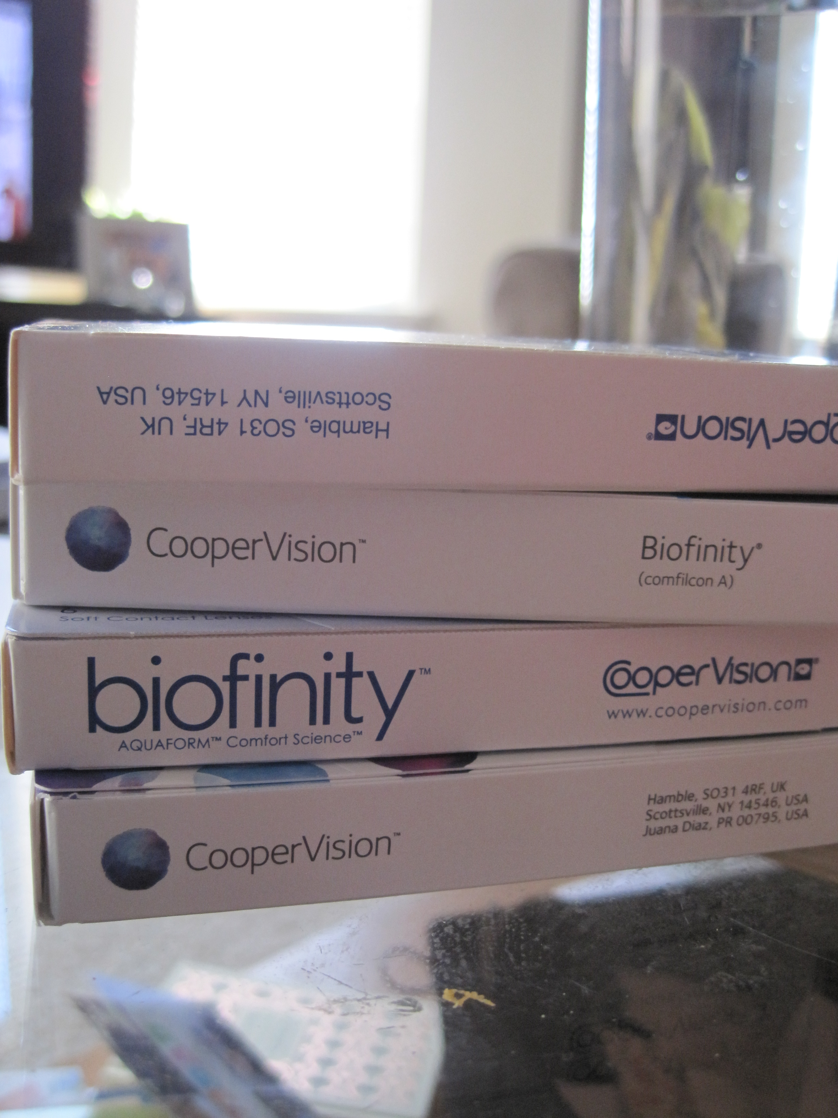 "My ""too expensive for newlyweds to afford"" contacts..."