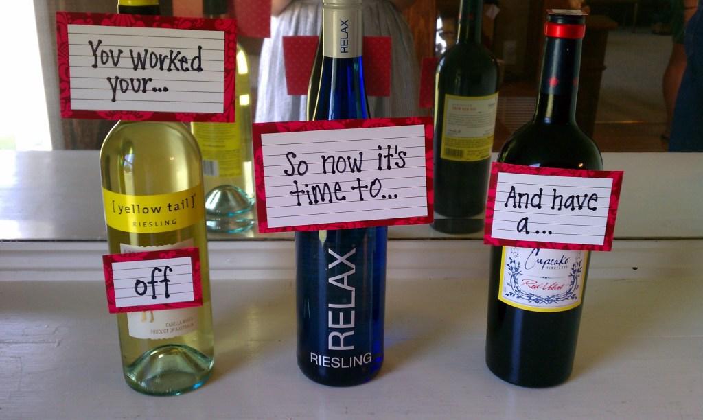 Wine gift idea