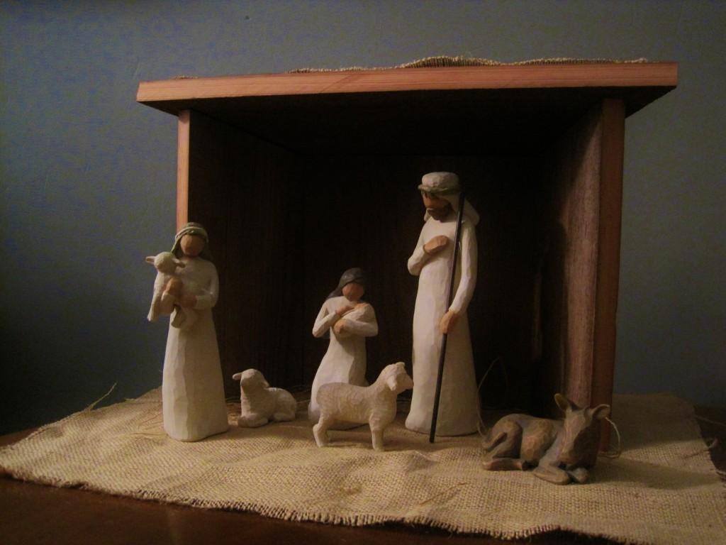 Diwyatt Building A Nativity Set Stable Loving Here