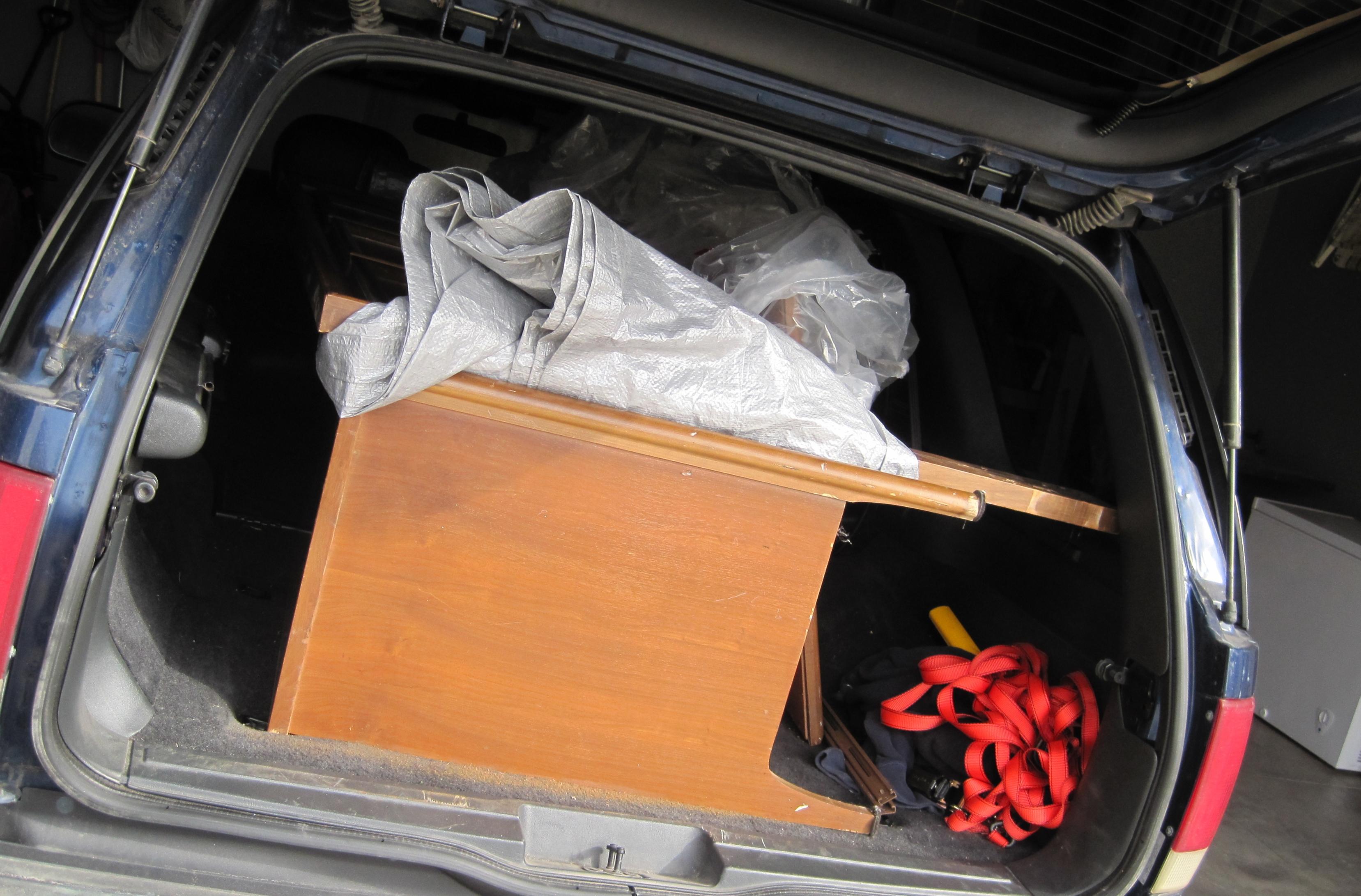 dresser in car 2
