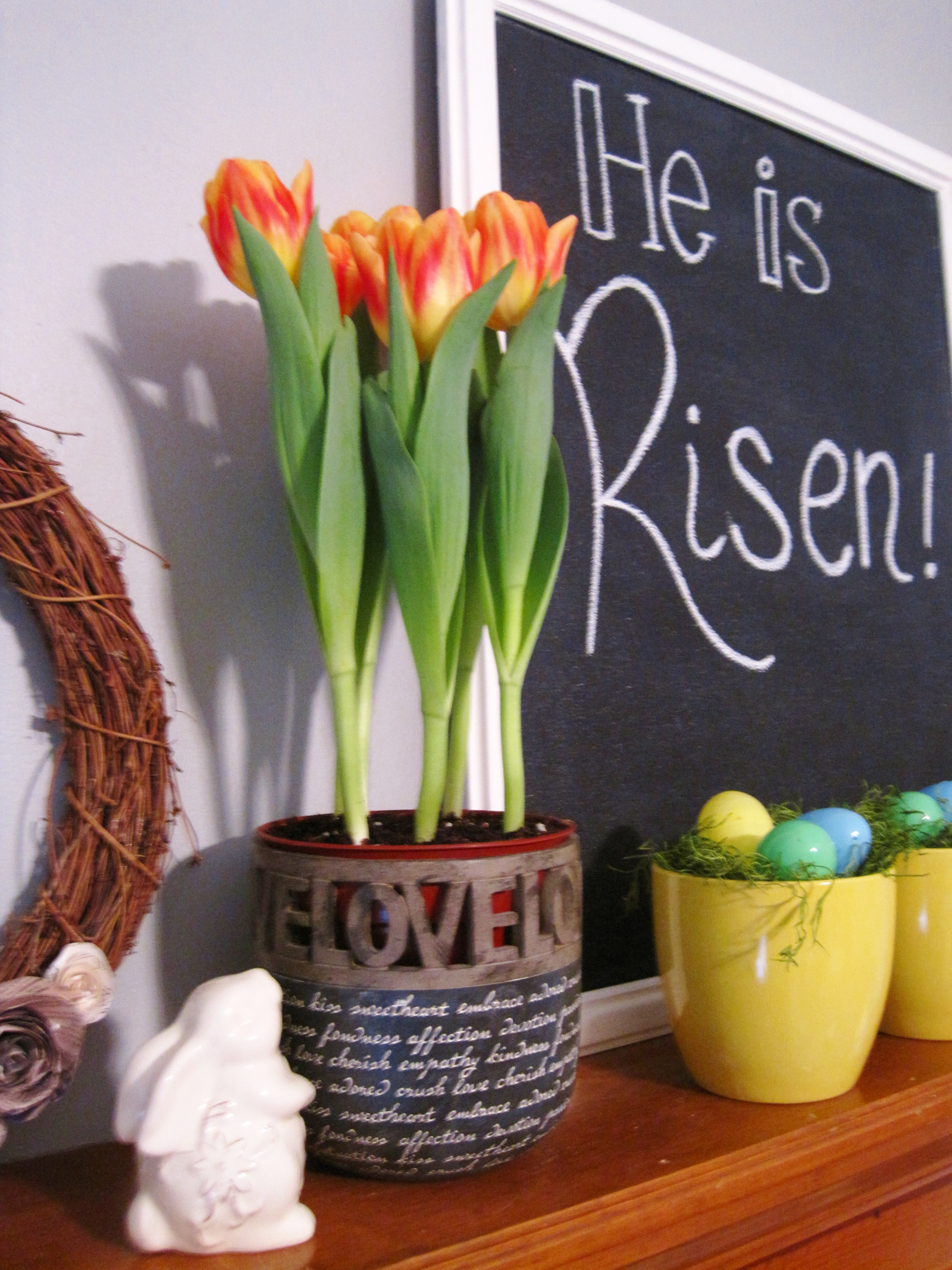 Easter mantle 10