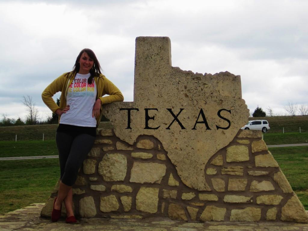 Entering Texas