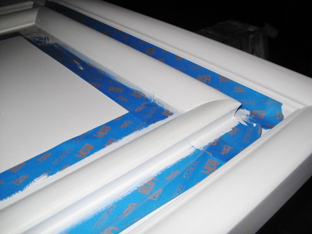 painting headboard 2