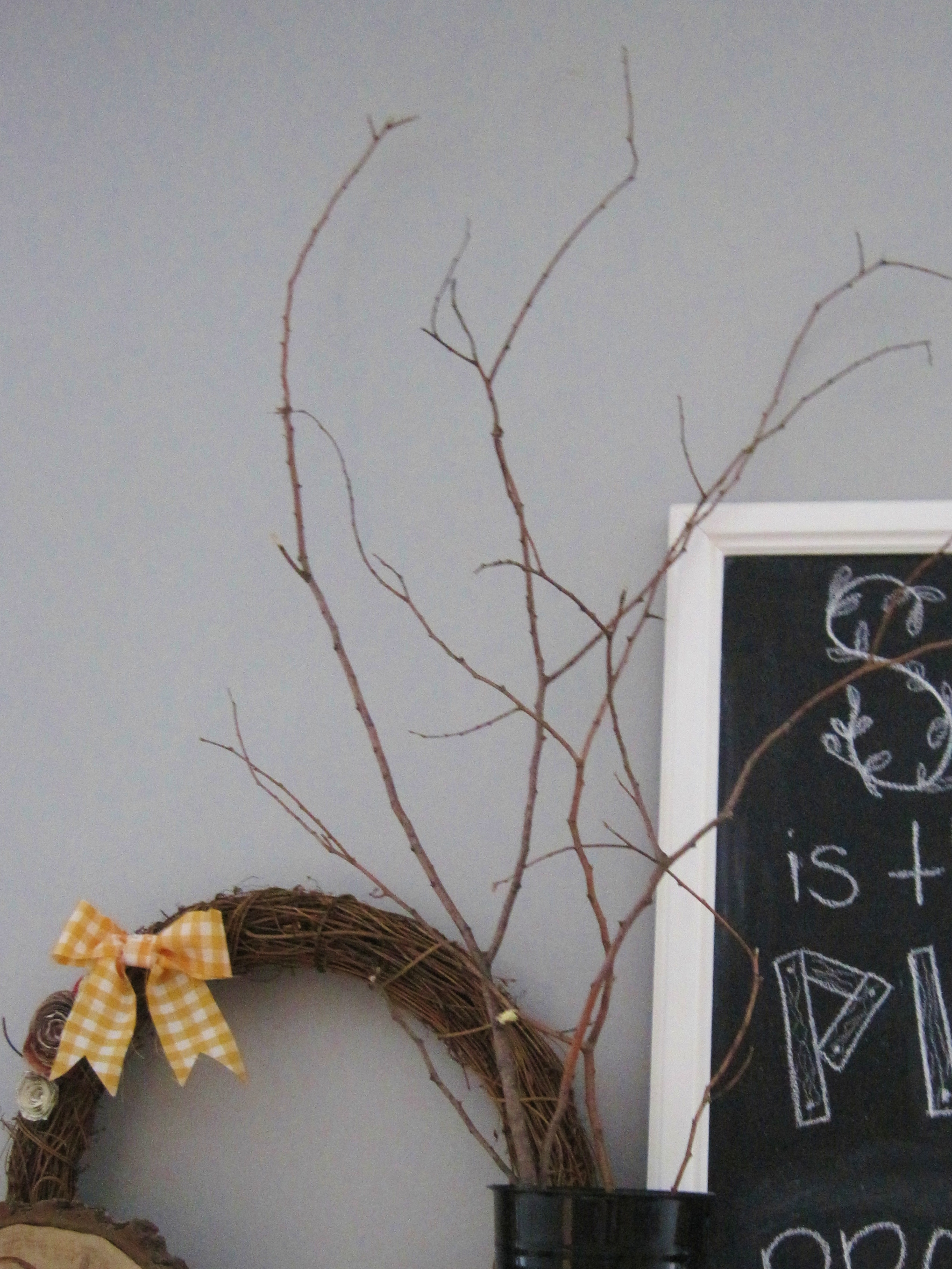 A better branch loving here for Tree branch decorations in the home