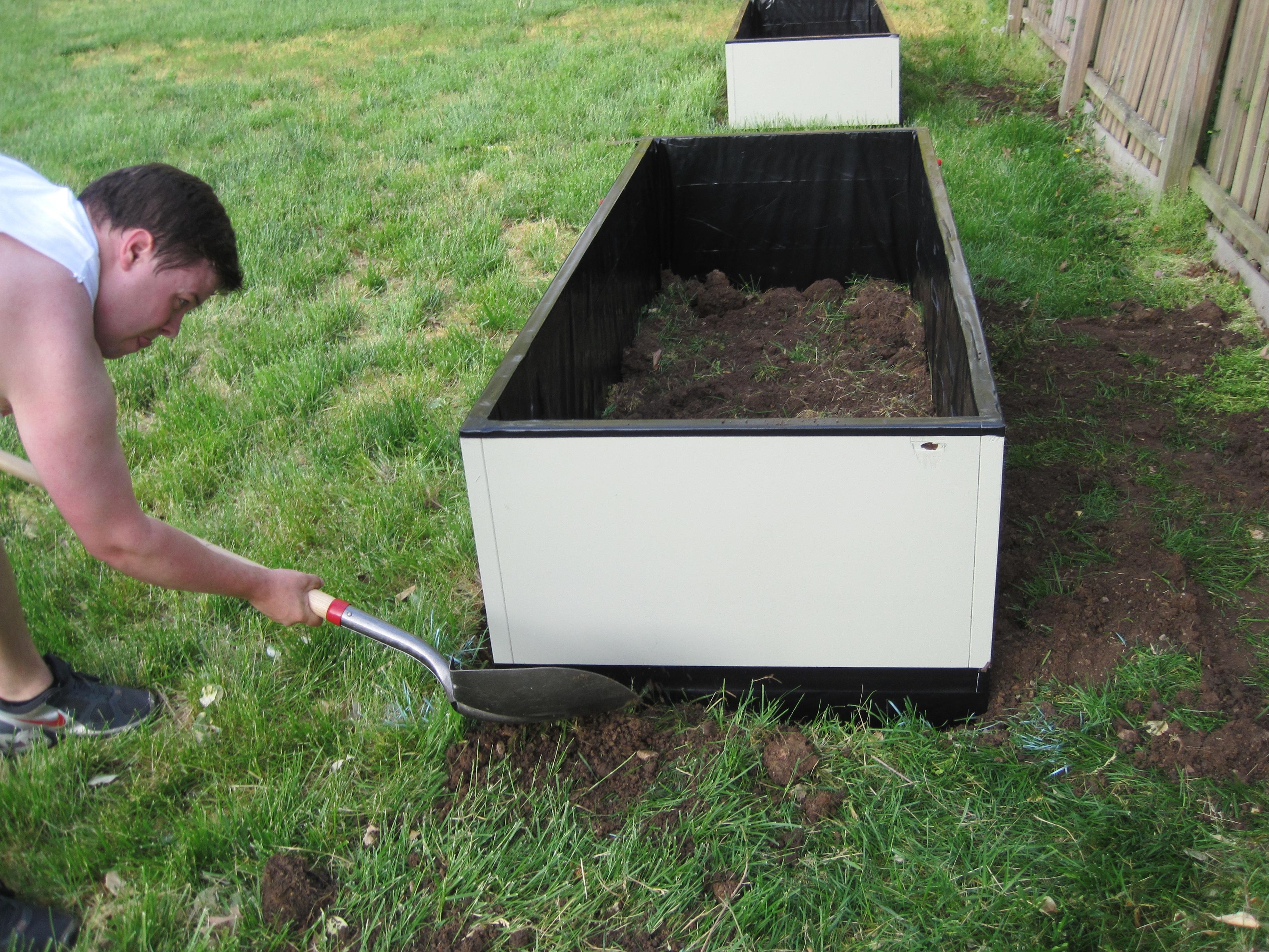 Setting Garden Boxes 13