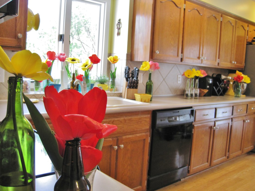 Tulips in Kitchen 11