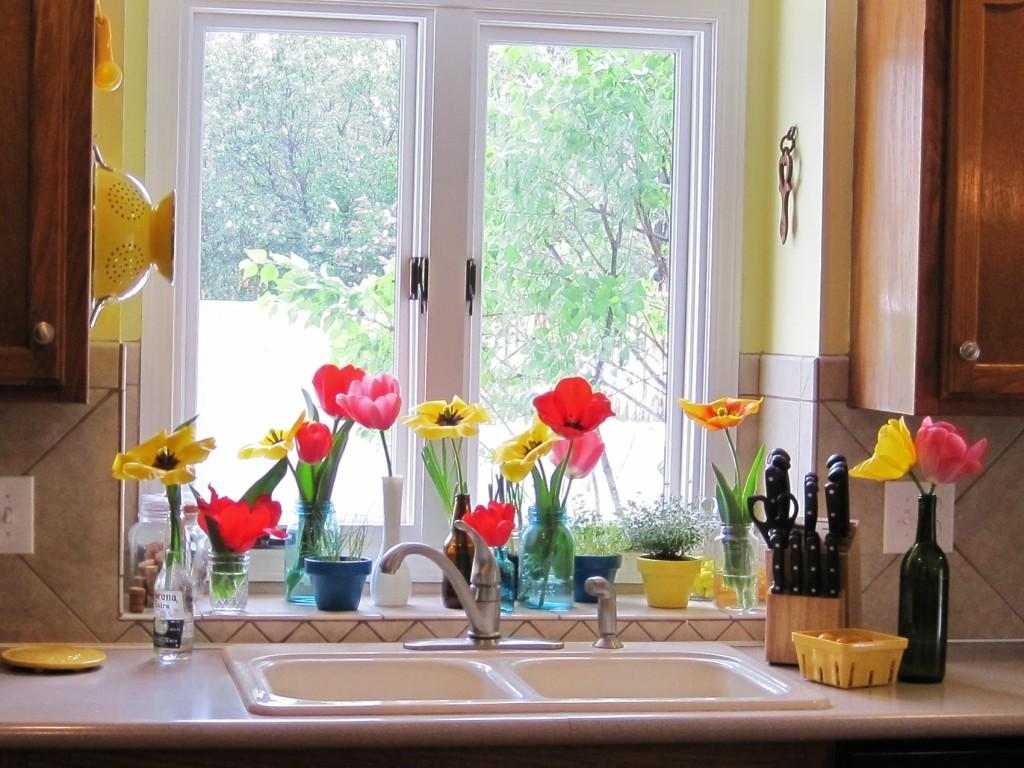 Tulips in Kitchen 7