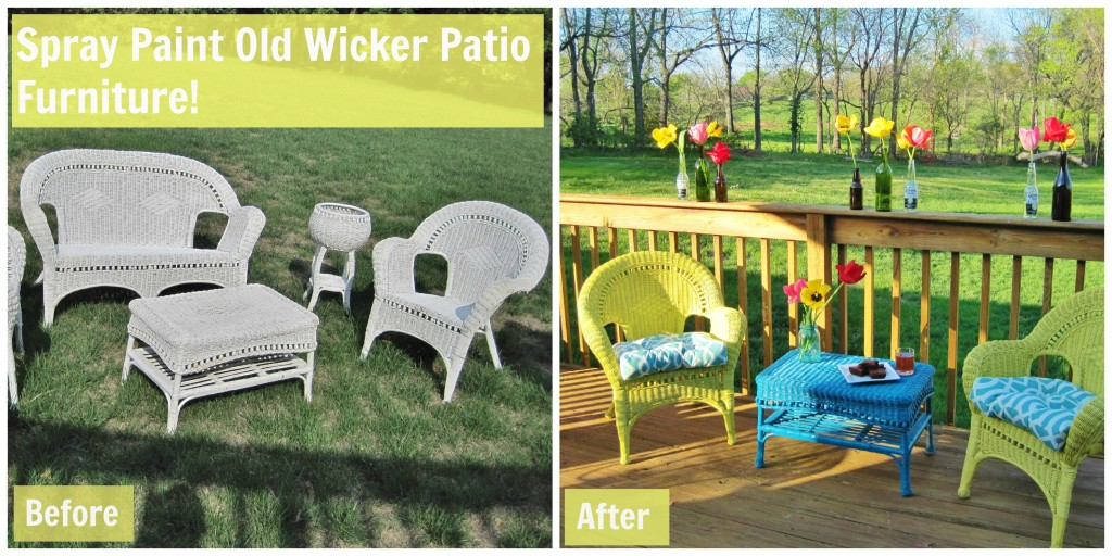 Wicker Before and After