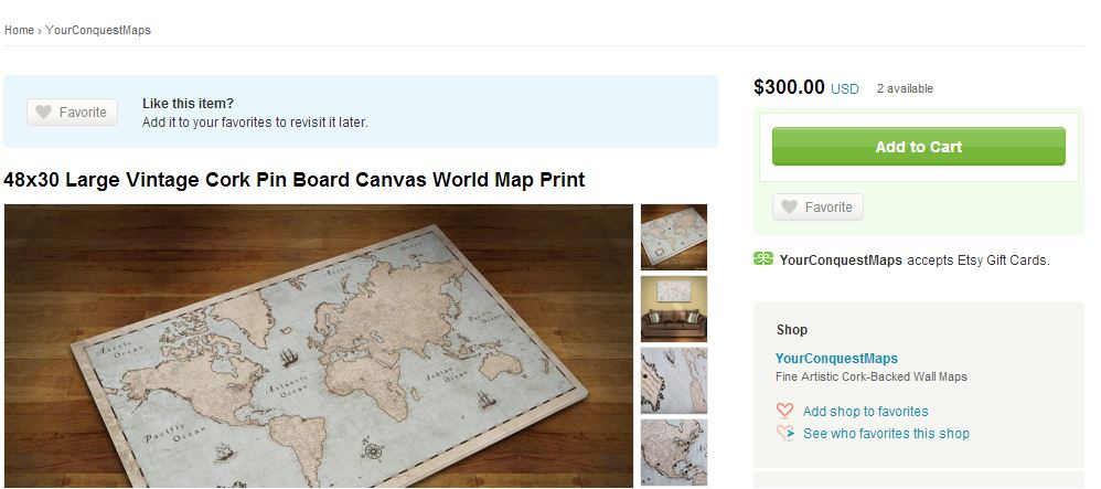 Diwyatt custom framed map pinboard loving here map etsy gumiabroncs Image collections