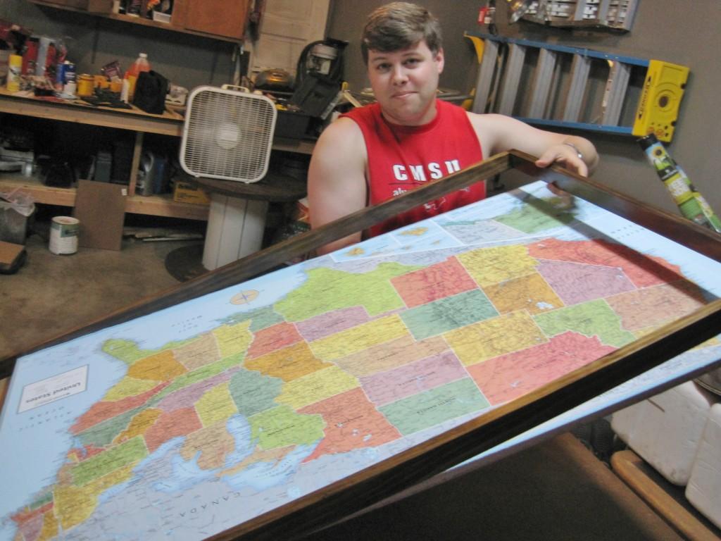 Map Frame 25