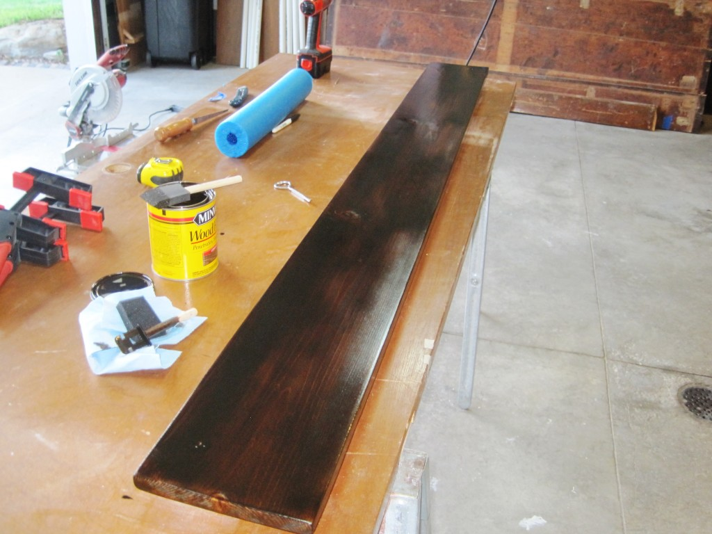 Staining Growth Chart Ruler