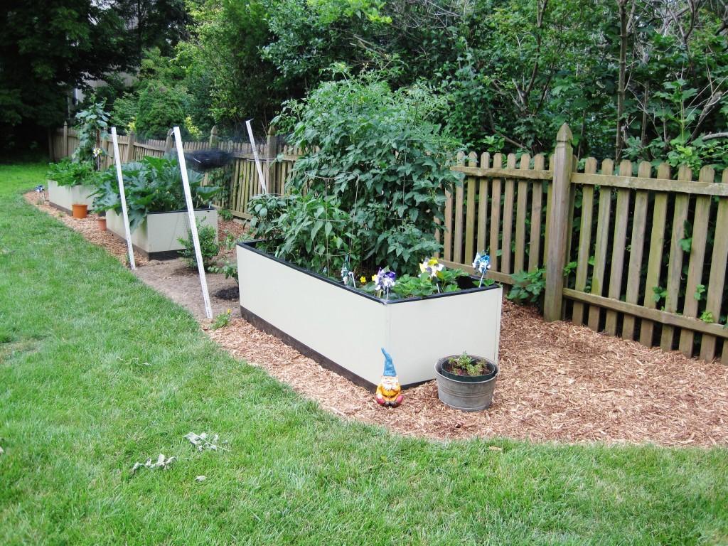 Mulched Garden 4