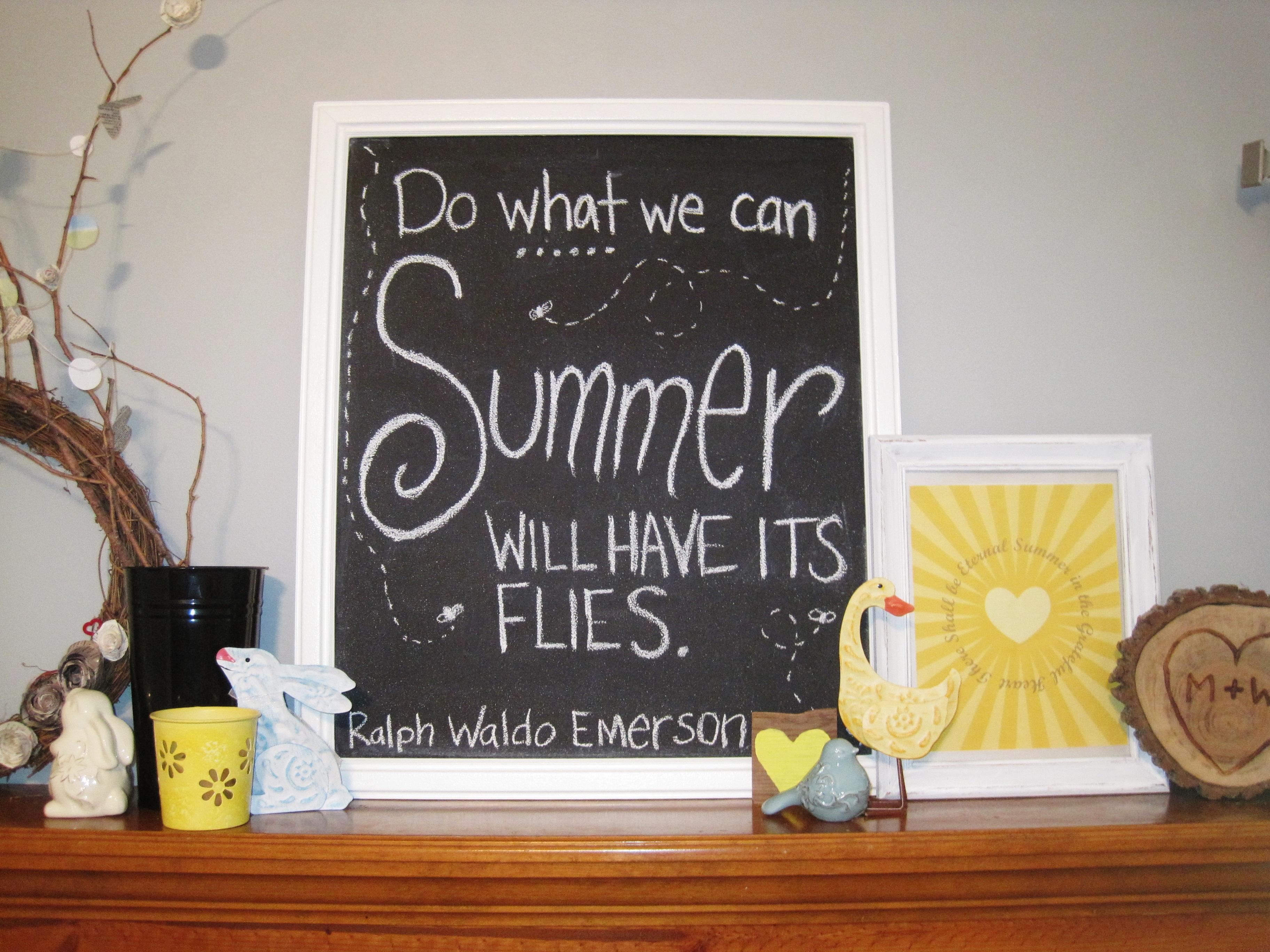 Summer Chalkboard 2