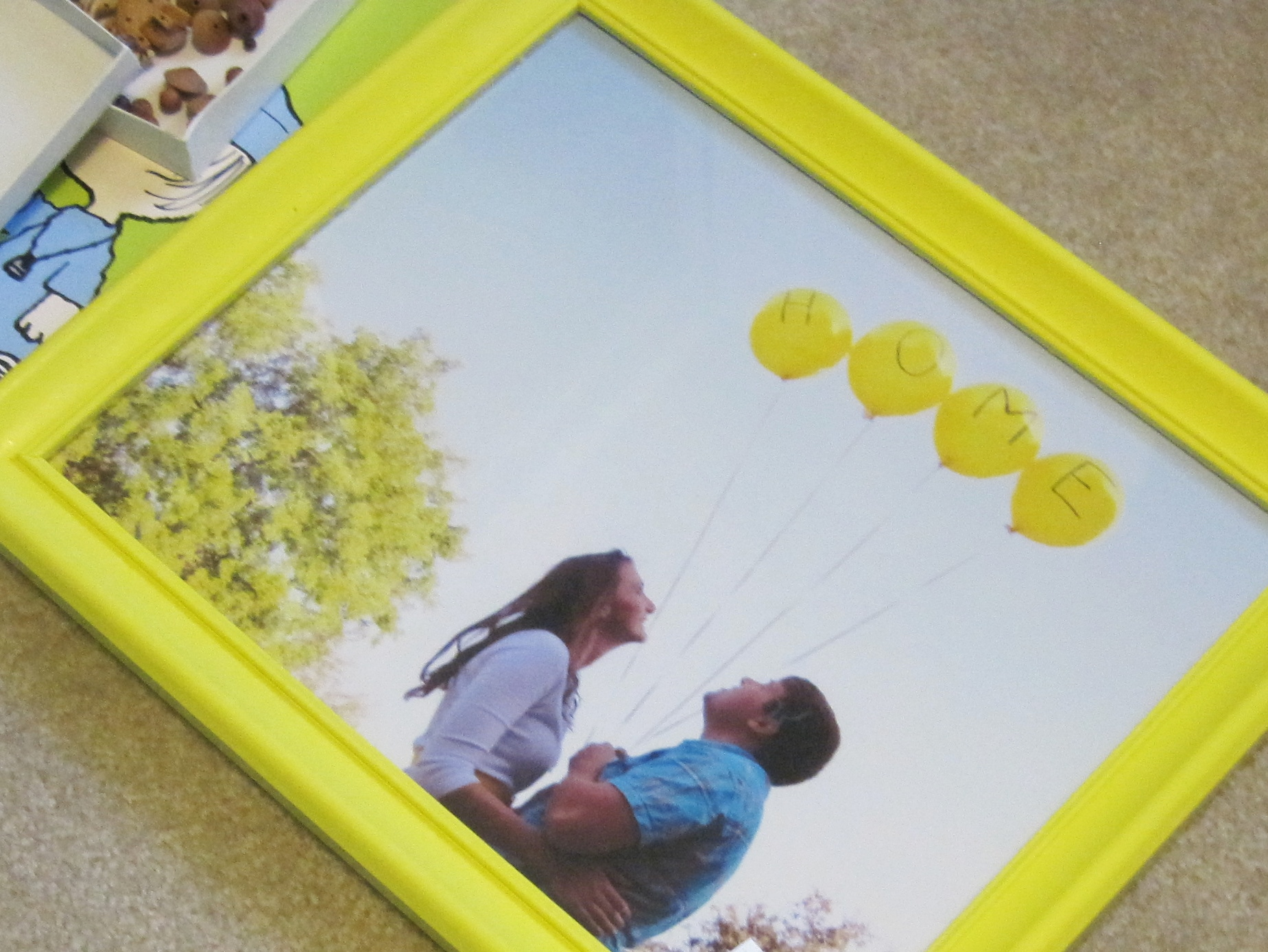Yellow Frame 2