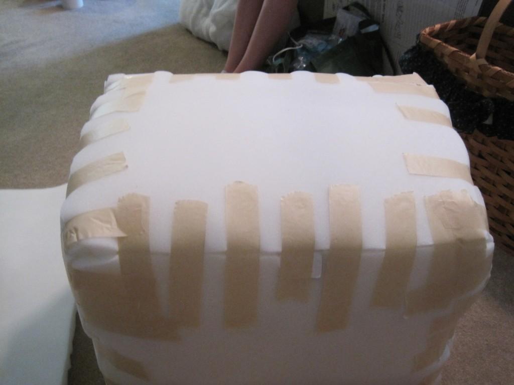 Foam Cooler Ottoman Foam 2