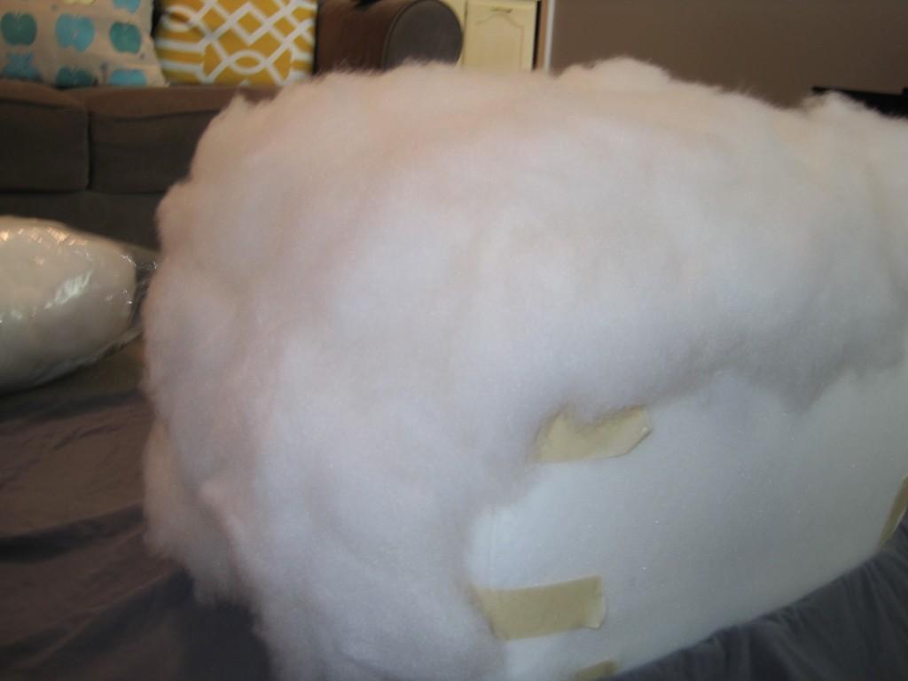 Foam Cooler Ottoman Stuffing