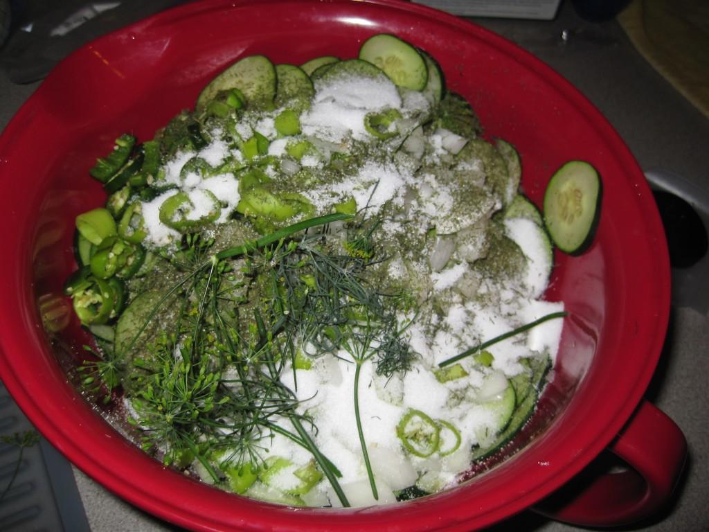 Homemade Pickles 12