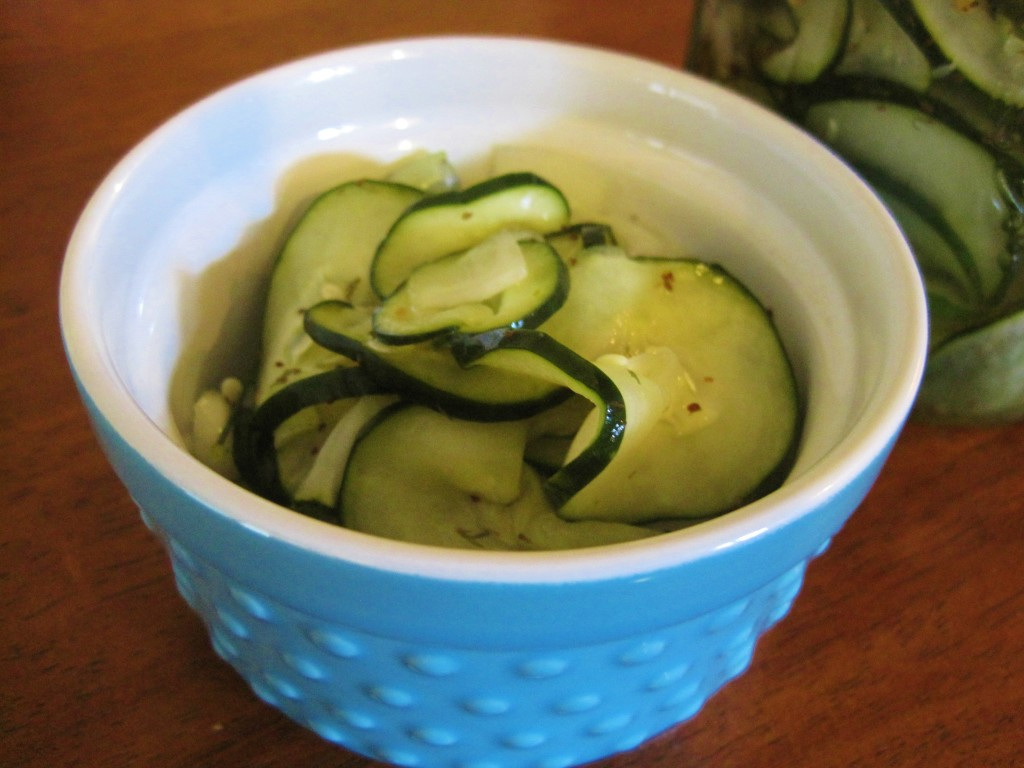 Homemade Sweet Dill Pickles 2