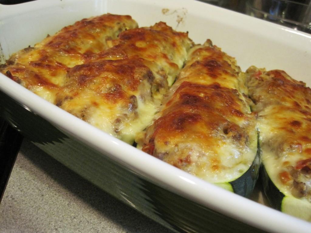 ground beef stuffed zucchini boats 11