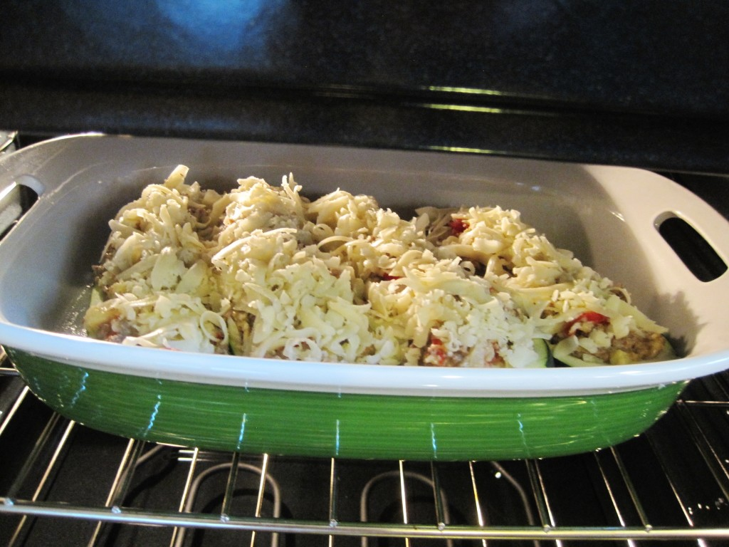 ground beef stuffed zucchini boats 9