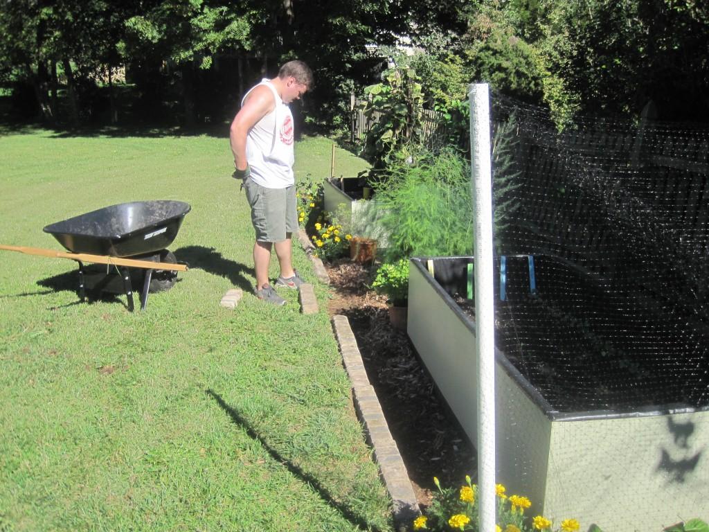 Adding Garden Edge