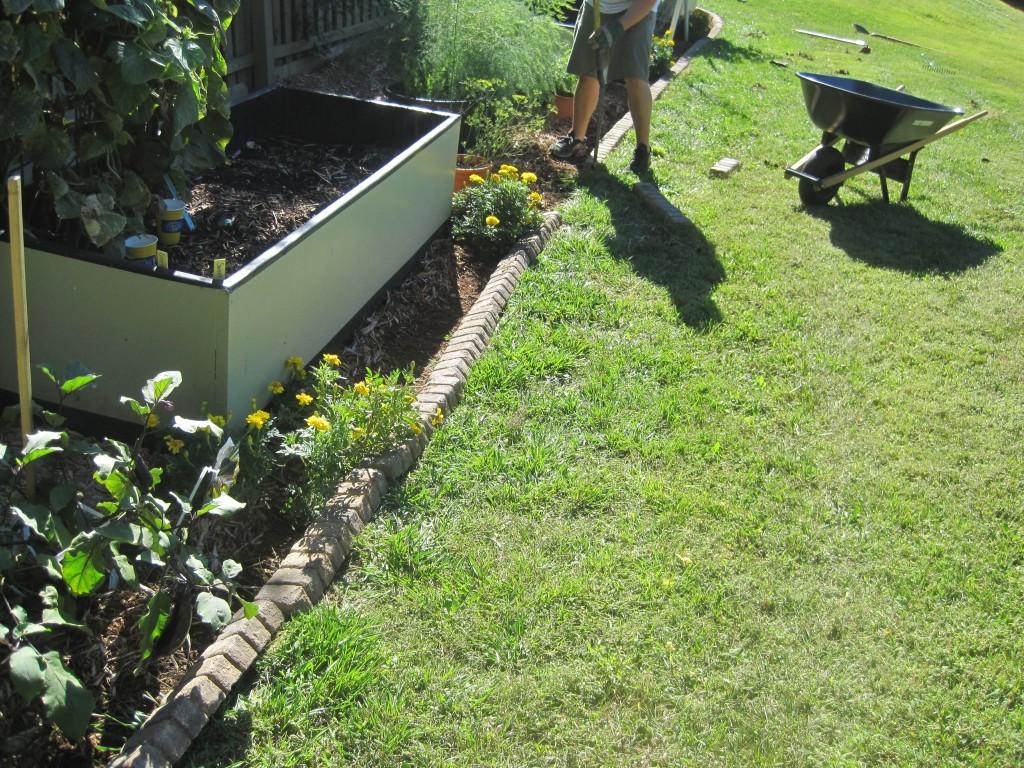 Adding Garden Edge 4