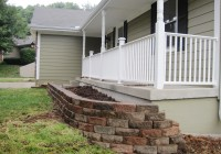 Finished Front Retaining Wall 4