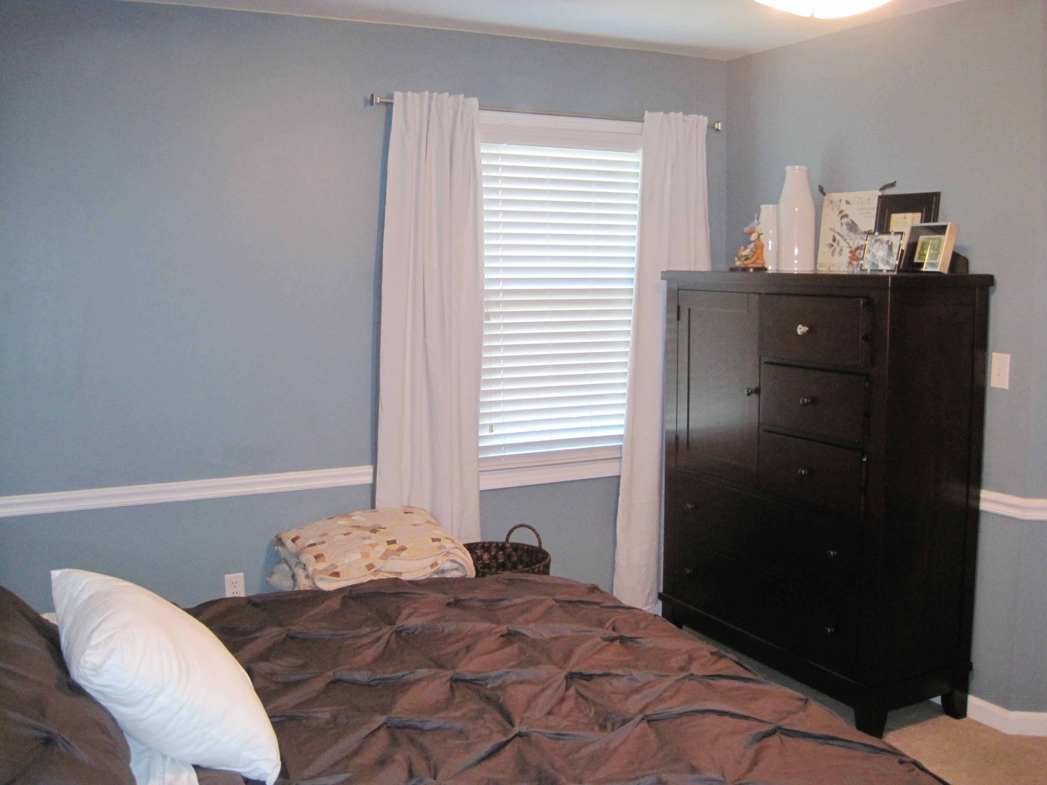 Master Bedroom Curtains Gray
