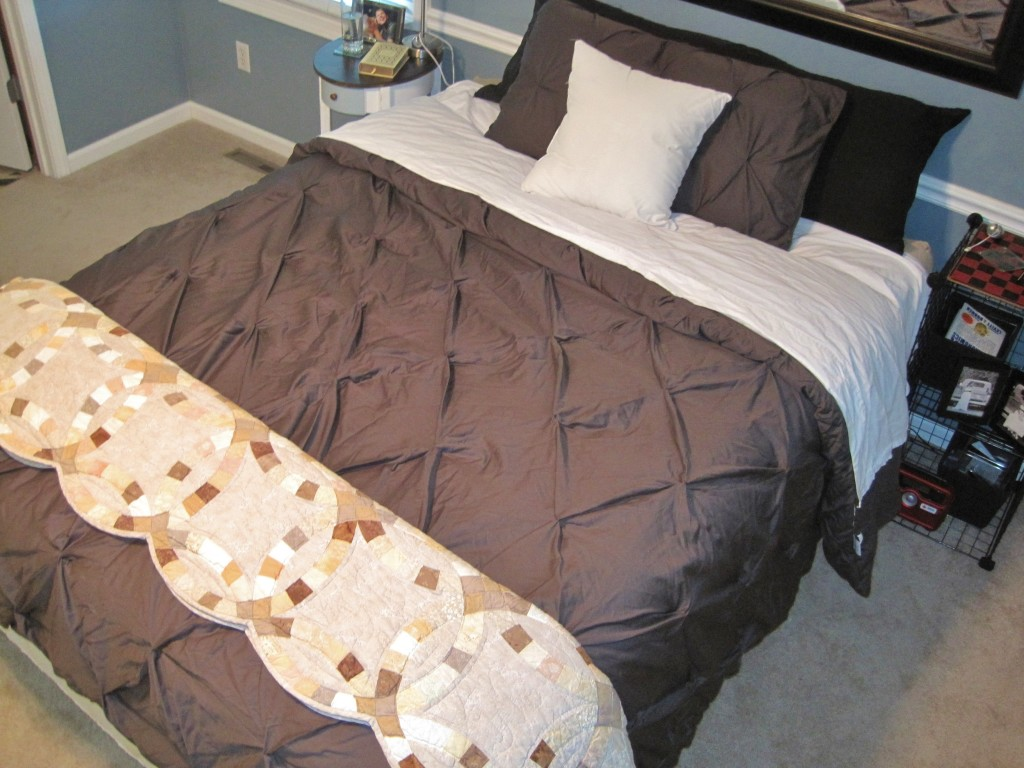 Wedding Quilt with Target Bedroom Decor
