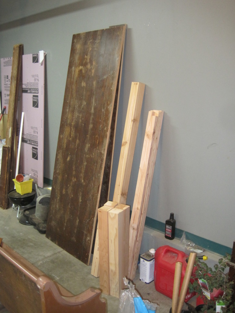 Cut Table Base Boards