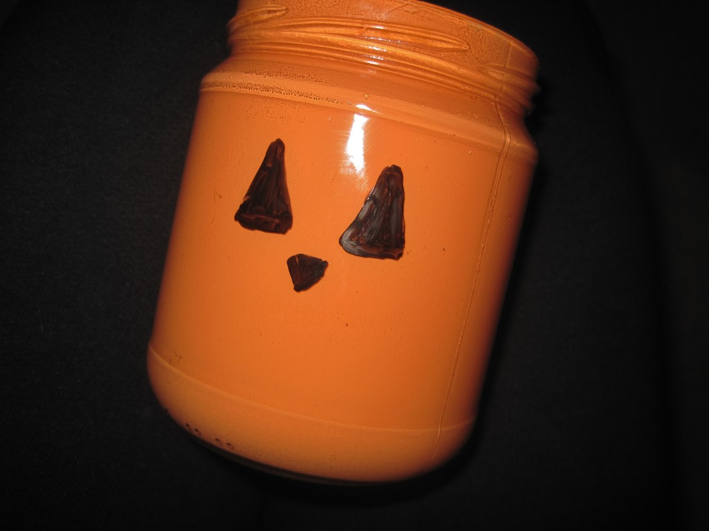 DIY Dry Erase Jack O Lantern Vases
