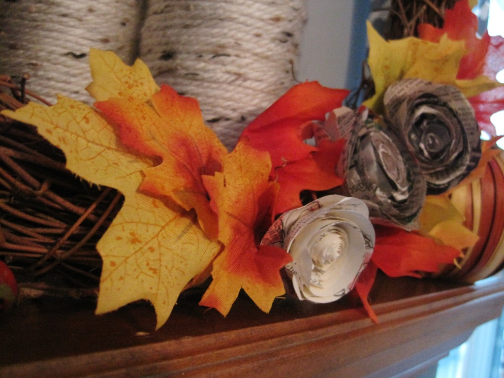 Easy DIY Fall Wreath with Leaves
