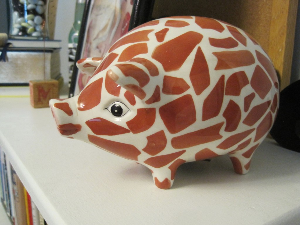 Giraffe Piggy Bank