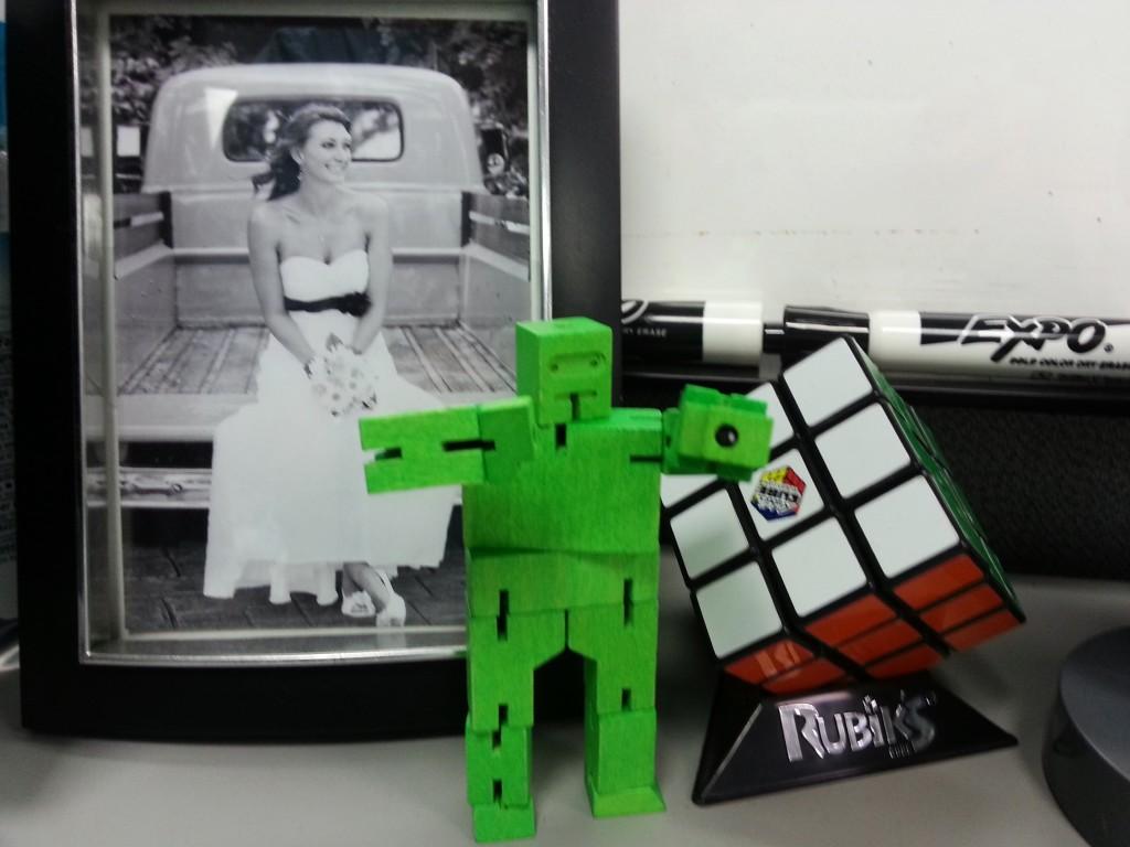 Wyatt's cubebot