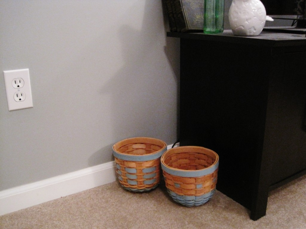 Finished Painted Baskets