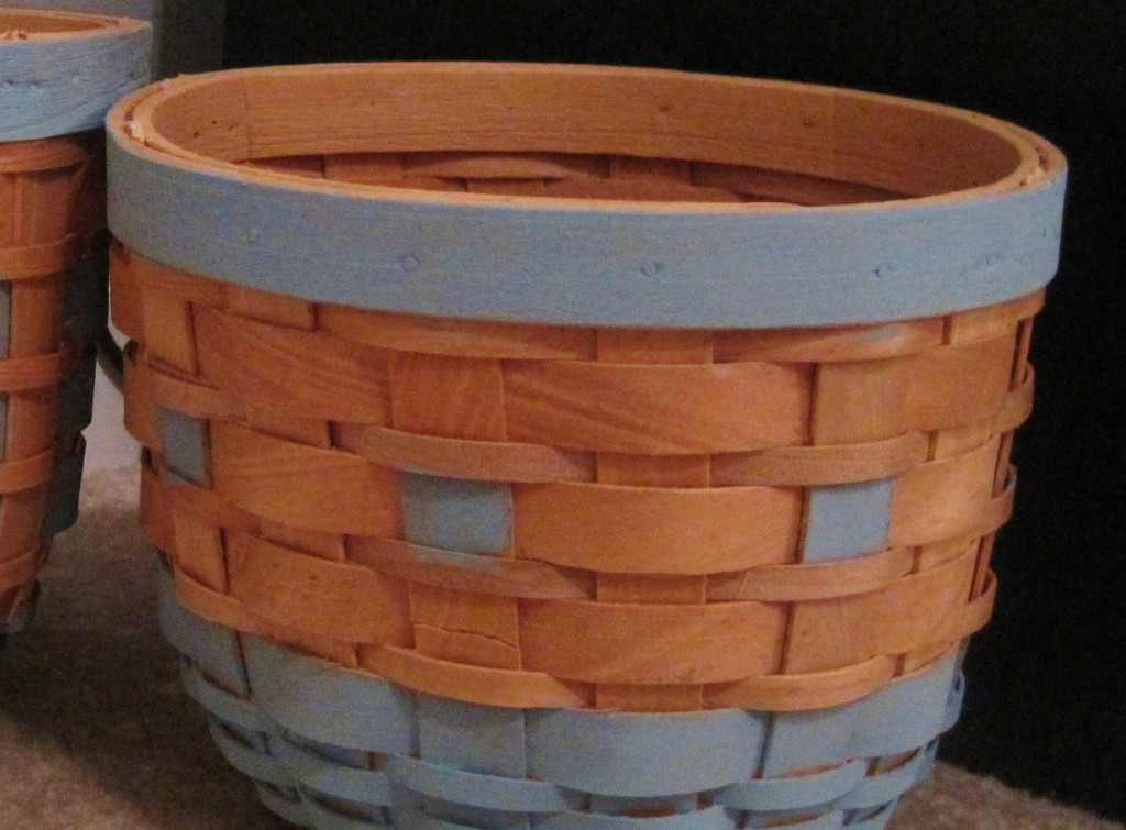 Finished Painted Baskets 2