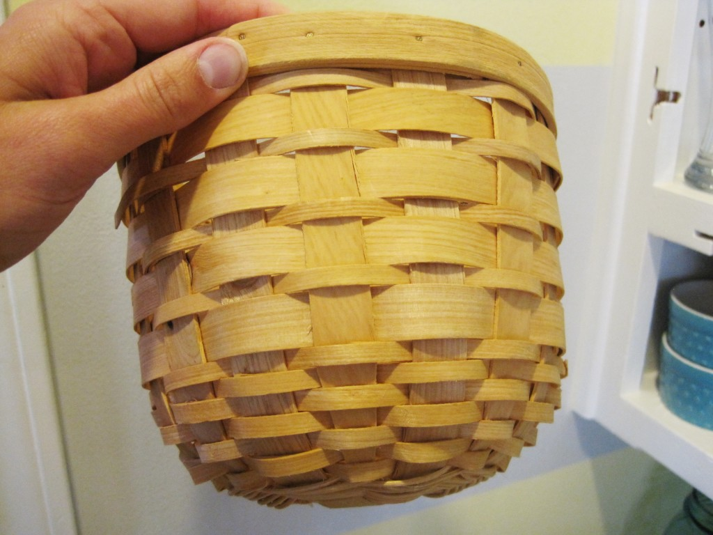 Plain Baskets Before