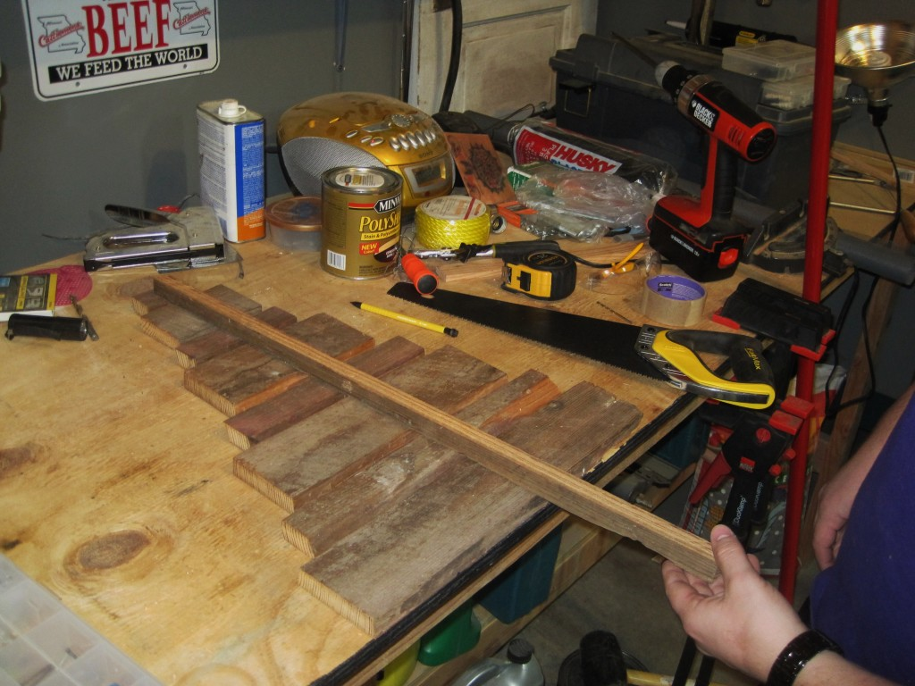 Building Barnwood Christmas Tree
