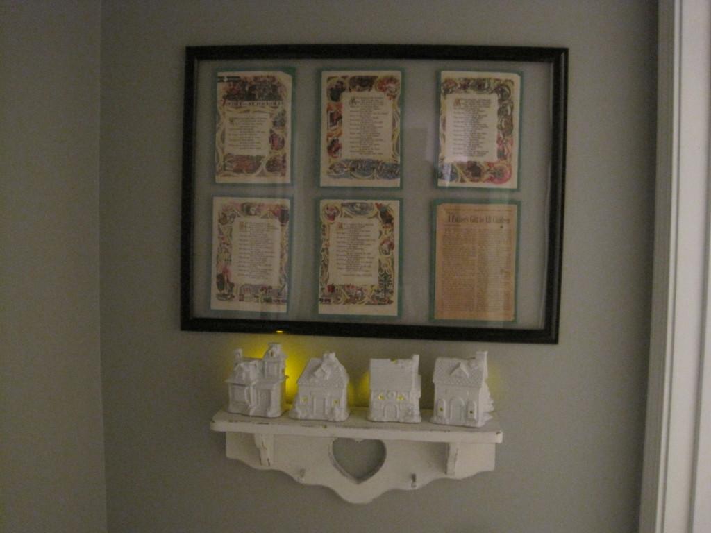 DIY White Ceramic Houses