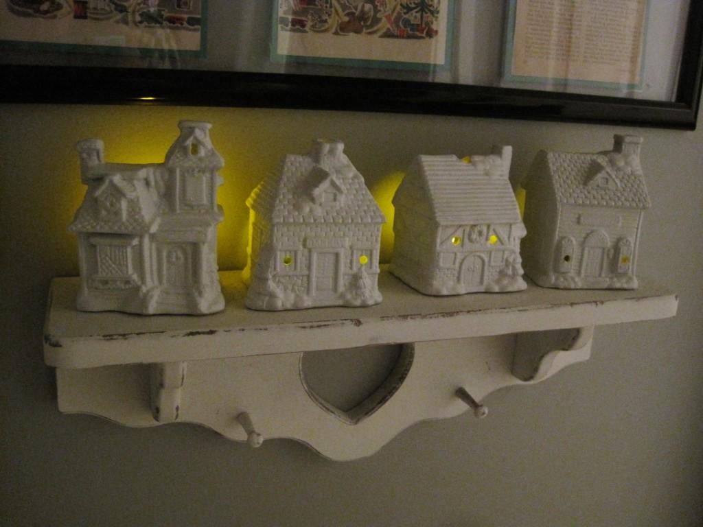DIY White Ceramic Houses 2