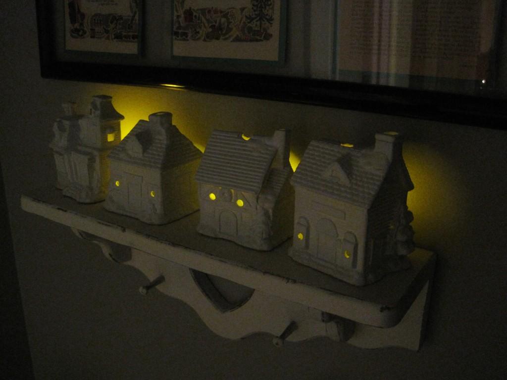 DIY White Ceramic Houses 5