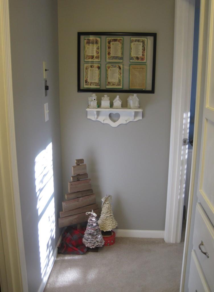 Hallway 2013 Christmas Decor