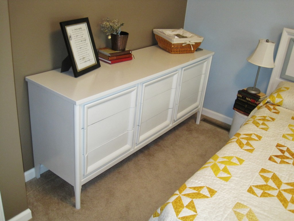 New dresser in guest room 3