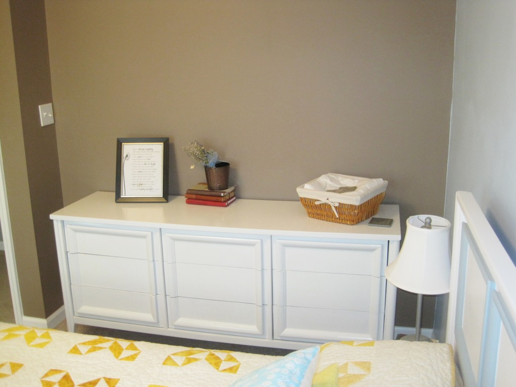 New dresser in guest room 4