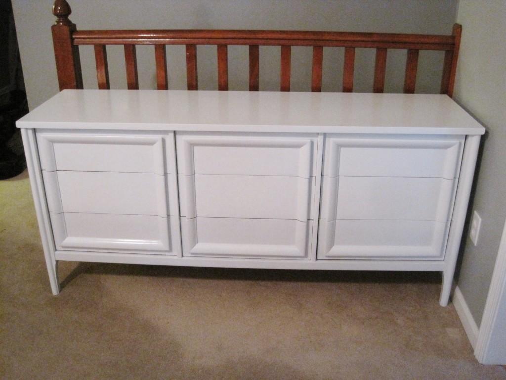 Painted Craiglist dresser