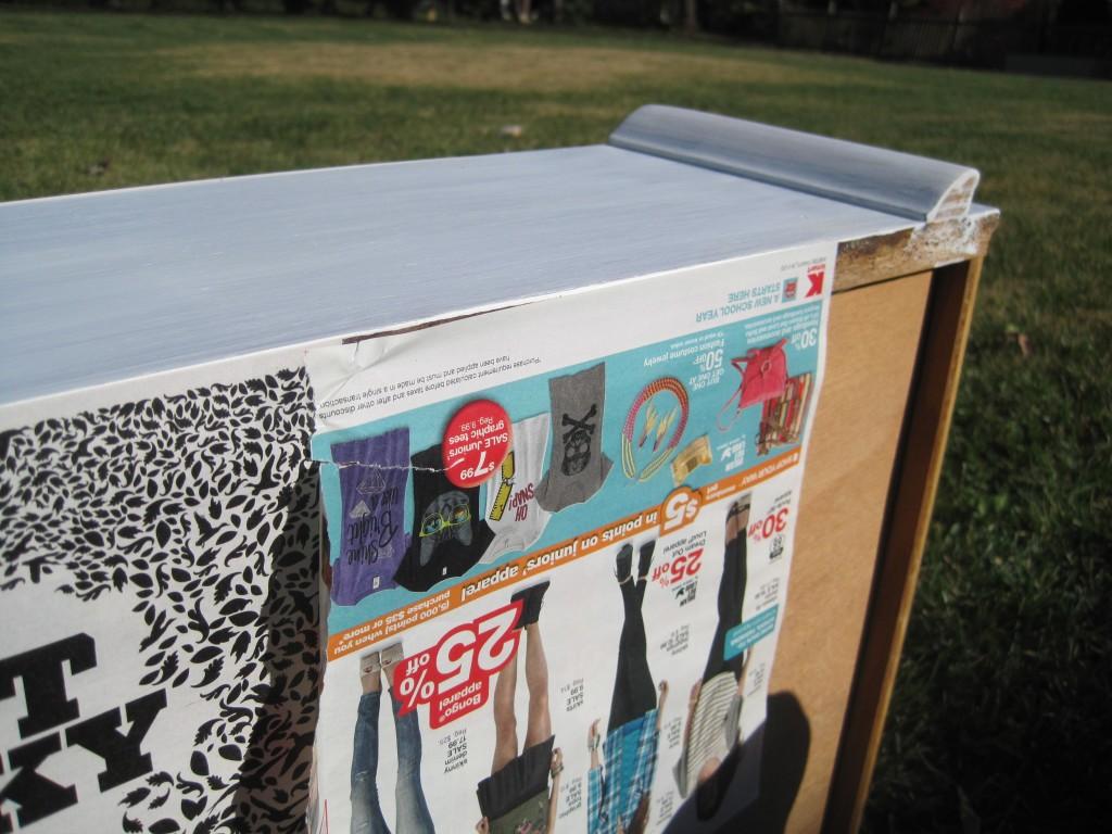 Painting Craiglist dresser
