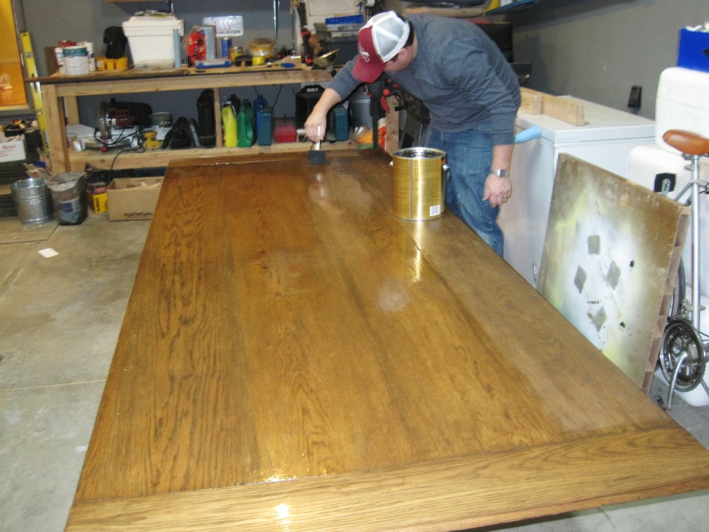 Putting Poly on Table Top