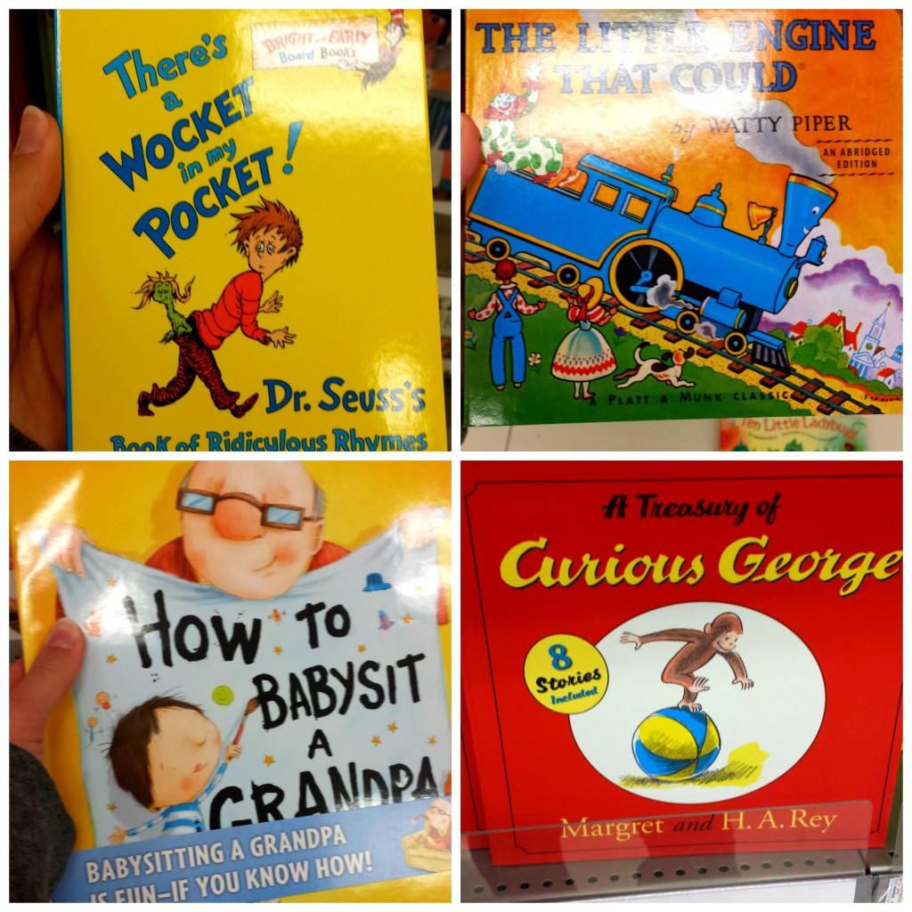Target Books for Christmas