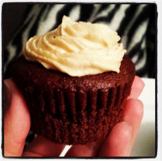 wyatt birthday cupcake